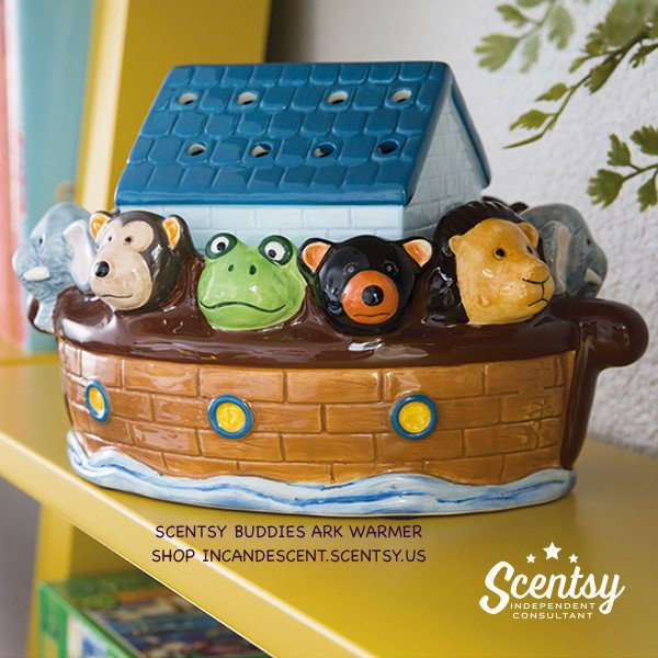 SCENTSY BUDDIES ARK WARMER, AVAILABLE MARCH 1, 2016