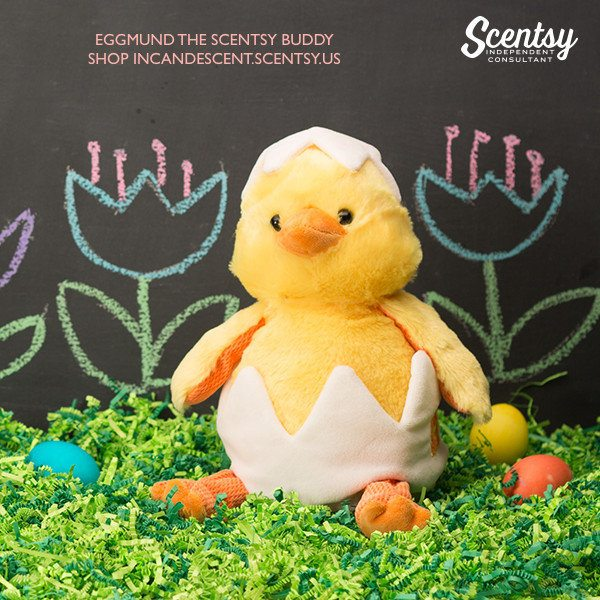 SHOP EGGMUND THE CHICK, SCENTSY BUDDY FOR EASTER!