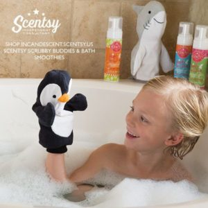 SCRUBBY SCENTSY BUDDIES AND SCENTSY BATH SMOOTHIES