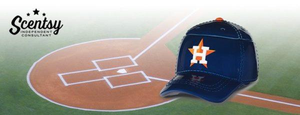 HOUSTON BASEBALL CAP SCENTSY WARMER