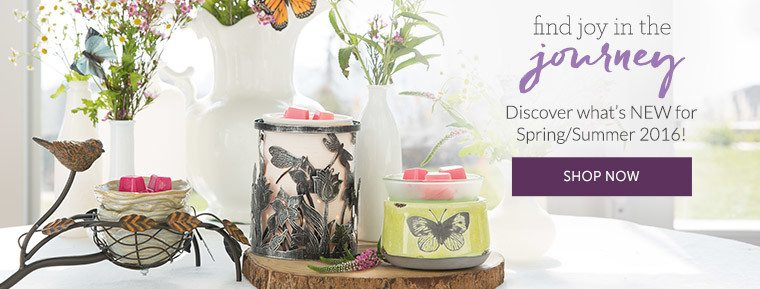 SHOP NEW SCENTSY SPRING SUMMER 2016 HOME PRODUCTS
