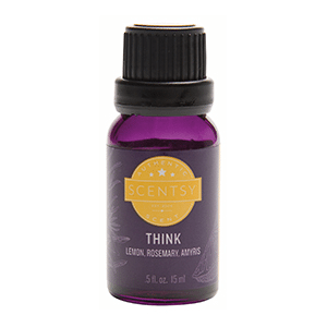 THINK ESSENTIAL OIL BLEND | Scentsy Closeout / Sale ~ THINK SCENTSY ESSENTIAL OIL BLEND