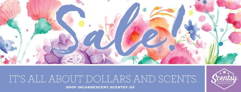 SCENTSY SPRING SUMMER 2016 CLOSEOUT SALE