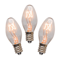 15 WATT SCENTSY LIGHT BULBS - 3 PACK