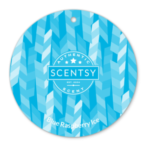 BLUE RASPBERRY ICE SCENTSY SCENT CIRCLE