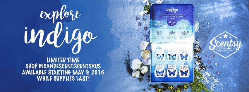 Scentsy Indigo Box collection