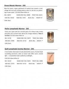Lampshade Technical Information