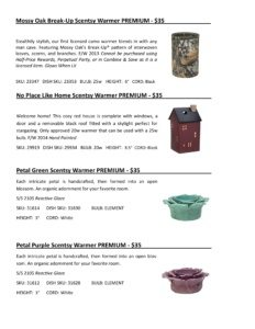 Warmer Info Cards SS 16-page-018   Scentsy Spring/Summer 2016 Product Catalog Cards