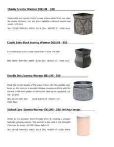 Warmer Info Cards SS 16-page-023   Scentsy Spring/Summer 2016 Product Catalog Cards