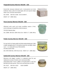 Warmer Info Cards SS 16-page-024   Scentsy Spring/Summer 2016 Product Catalog Cards