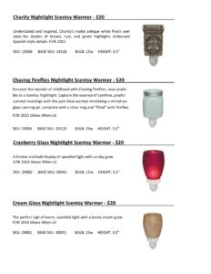 Warmer Info Cards SS 16-page-032   Scentsy Spring/Summer 2016 Product Catalog Cards