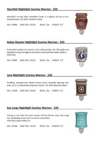 Warmer Info Cards SS 16-page-034   Scentsy Spring/Summer 2016 Product Catalog Cards