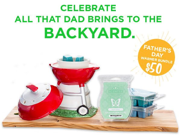 Father's Day Scentsy 2016 Warmer Bundle