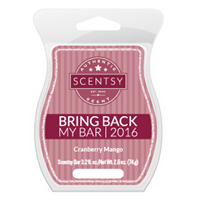 CRANBERRY MANGO BRING BACK MY SCENTSY BAR
