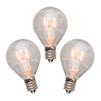 20 WATT SCENTSY LIGHT BULBS - 3 PACK
