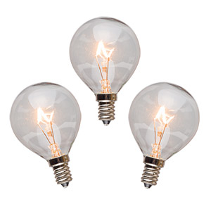 25 WATT SCENTSY LIGHT BULBS - 3 PACK