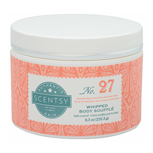 SCENTSY WHIPPED BODY SOUFFLE NO. 27