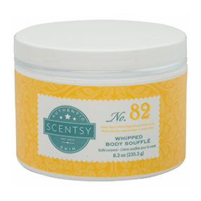 SCENTSY WHIPPED BODY SOUFFLE NO. 82