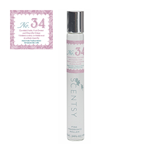 SCENTSY FINE FRAGRANCE ROLLER NO. 34 10ML