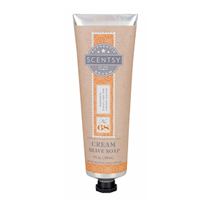 SCENTSY CREAM SHAVE SOAP NO. 68