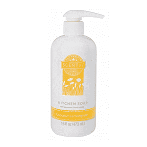 COCONUT LEMONGRASS SCENTSY KITCHEN DISH SOAP