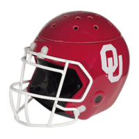 UNIVERSITY OF OKLAHOMA FOOTBALL HELMET SCENTSY WARMER ELEMENT