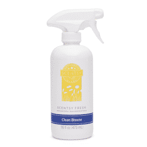 CLEAN BREEZE SCENTSY FRESH LINEN SPRAY | Shop Scentsy | Incandescent.Scentsy.us
