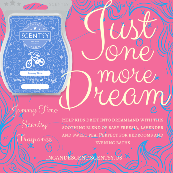 Jammy Time Kids Scentsy Bar | Shop Scentsy | Incandescent.Scentsy.us
