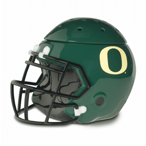 UNIVERSITY OF OREGON FOOTBALL HELMET SCENTSY WARMER ELEMENT