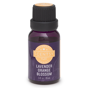 SCENTSY LAVENDER ORANGE BLOSSOM 100% NATURAL OIL 15 ML