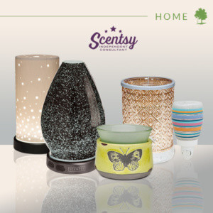 SCENTSY HOME PRODUCTS, SCENTSY WARMERS & SCENTSY DIFFUSERS
