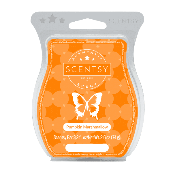 PUMPKIN MARSHMALLOW SCENTSY BAR