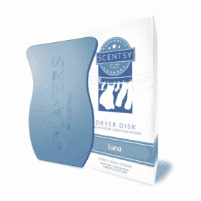 LUNA SCENTSY DRYER DISKS