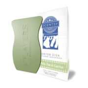 WHITE TEA & CACTUS SCENTSY DRYER DISKS