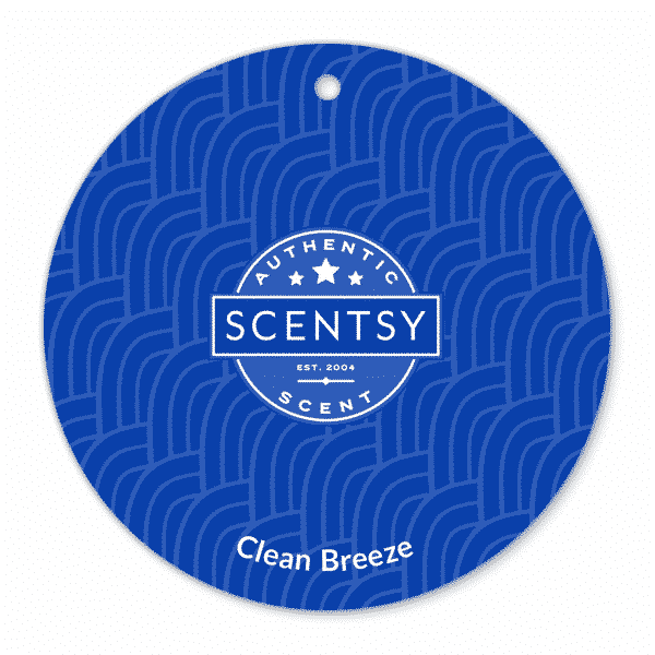 CLEAN BREEZE SCENTSY SCENT CIRCLE | CLEAN BREEZE SCENTSY SCENT CIRCLE | Shop Scentsy | Incandescent.Scentsy.us