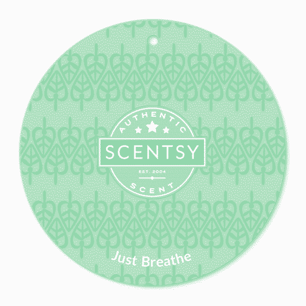 Just Breathe Scentsy Scent Circle | Shop Scentsy | Incandescent.Scentsy.us