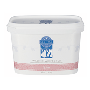 QUIVER SCENTSY WASHER WHIFFS TUB 48oz.