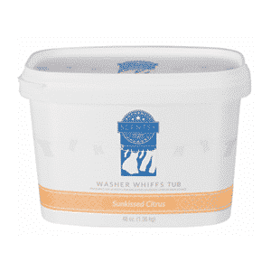 SUNKISSED CITRUS SCENTSY WASHER WHIFFS TUB 48oz.