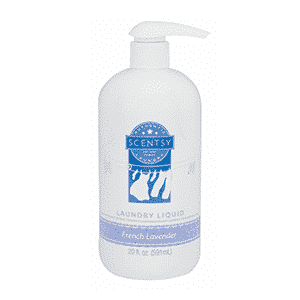 FRENCH LAVENDER SCENTSY LAUNDRY LIQUID