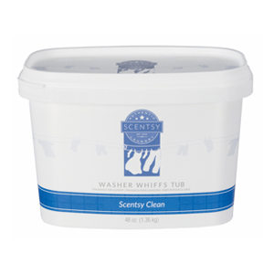 SCENTSY CLEAN WASHER WHIFFS TUB 48oz.