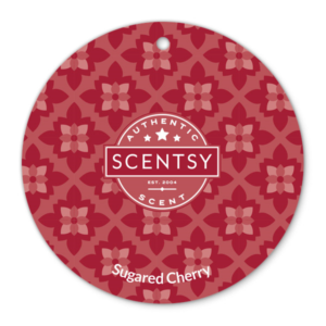 SUGARED CHERRY SCENTSY SCENT CIRCLE