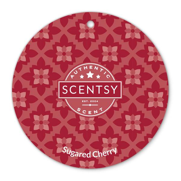 SUGARED CHERRY SCENTSY SCENT CIRCLE
