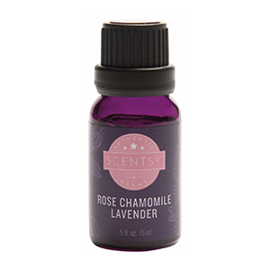 ROSE CHAMOMILE LAVENDER 100% SCENTSY NATURAL OIL