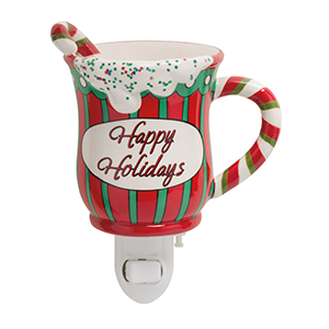 Scentsy Happy Holidays Mug Nightlight Warmer