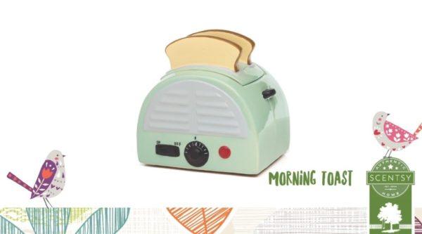 MORNING TOAST RETRO SCENTSY WARMER