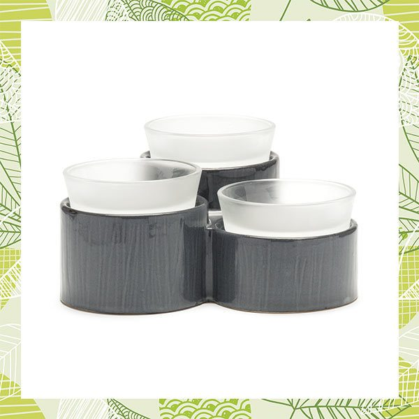 SCENTSY ACCORD WARMER IN GRAY