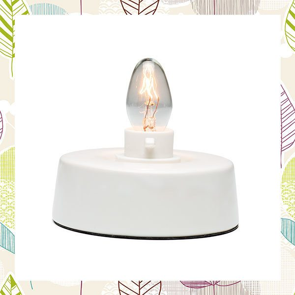 Nice SCENTSY TABLE TOP NIGHTLIGHT BASE FOR CERAMIC NIGHTLIGHT WARMERS