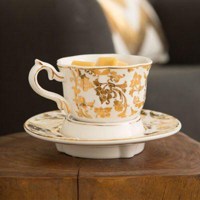 SCENTSY ENGLISH BREAKFAST TEA CUP WARMER