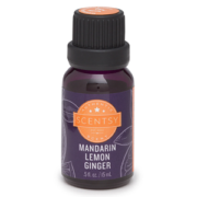 MANDARIN LEMON GINGER 100% SCENTSY NATURAL OIL 15 ML