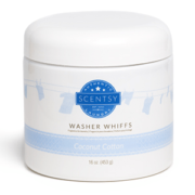 COCONUT COTTON SCENTSY WASHER WHIFFS 16oz.